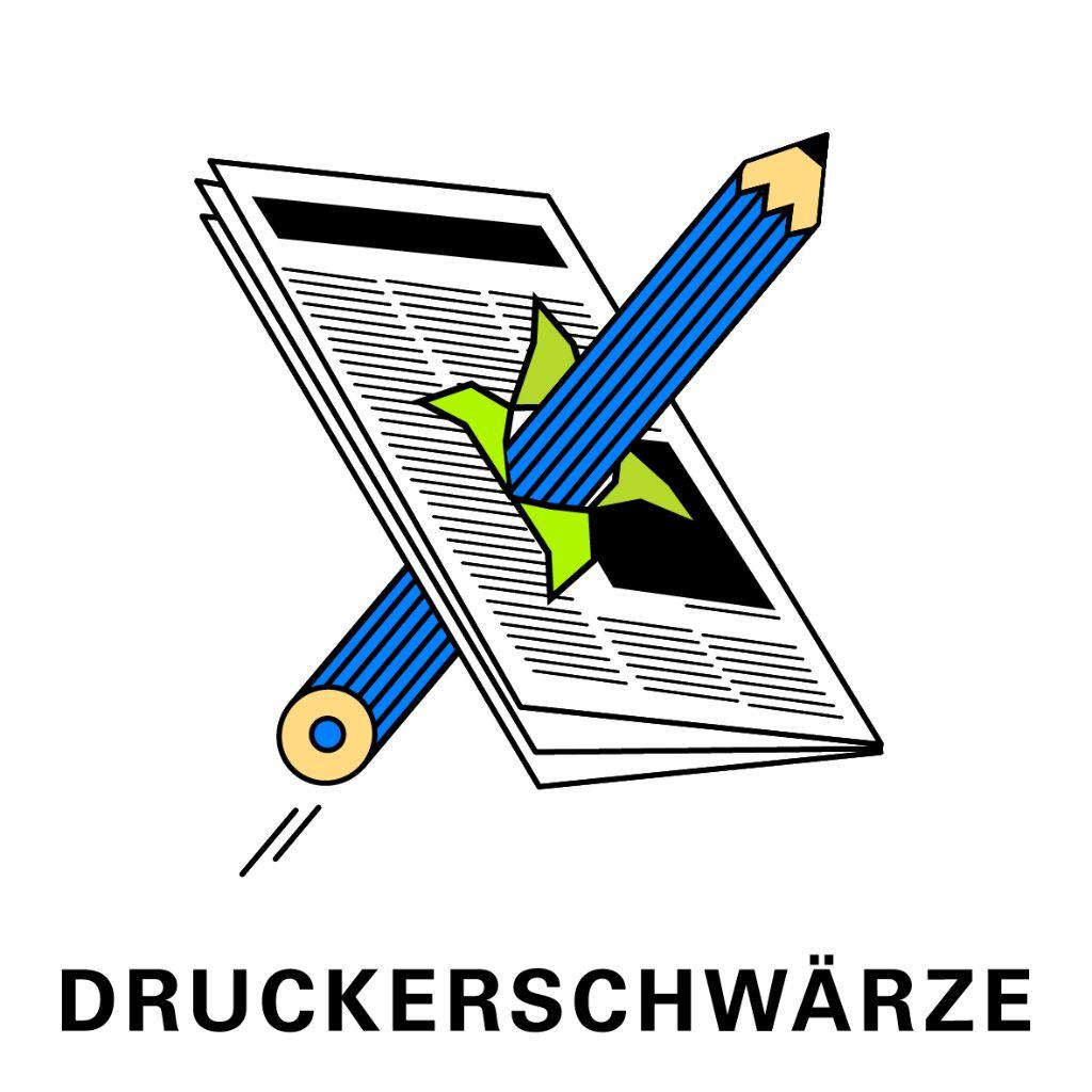 Druckerschwärze 1