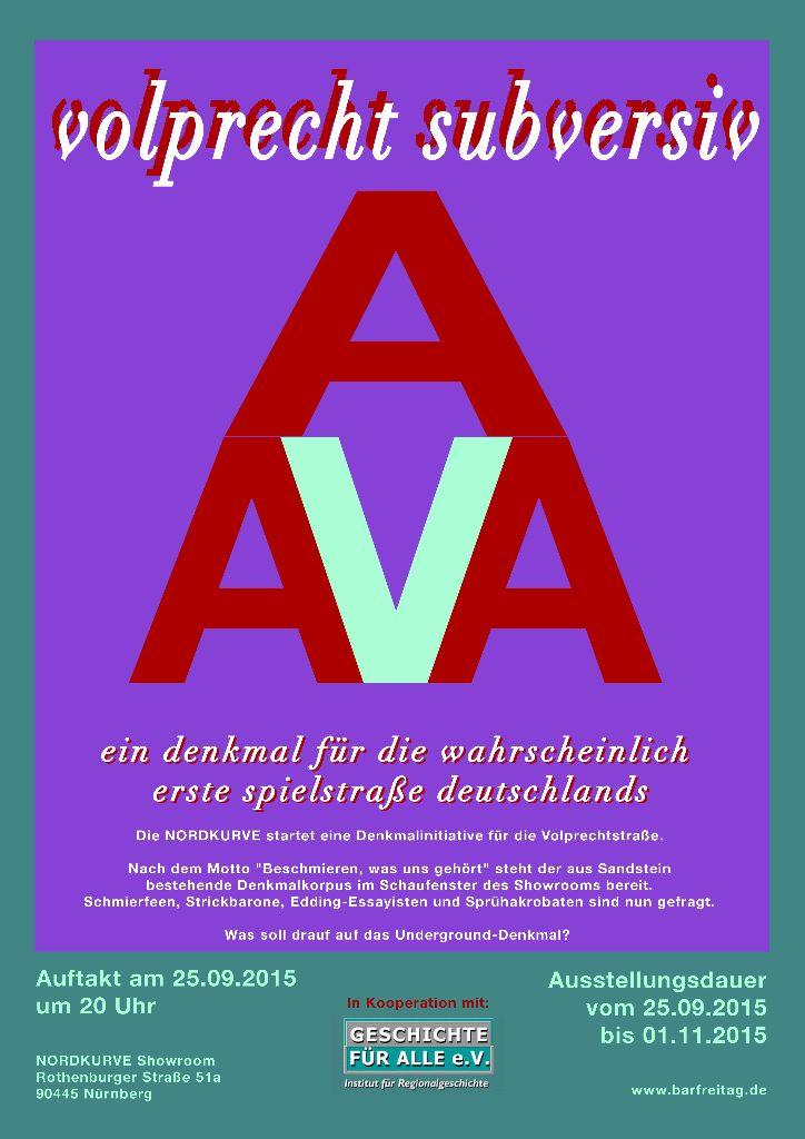 Volprecht Subversiv Plakat